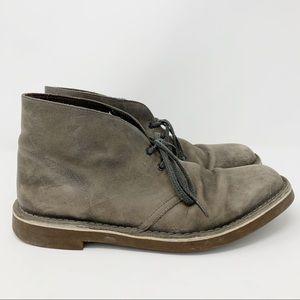 Clark's Brown Leather Chukka Boots Sz 10.5